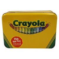 Crayola Tin Crayon Holder - Fits 64 Crayons