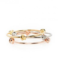 KNOTTED UP BANGLE SET