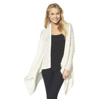 Xhilaration® Juniors Waterfall Cardigan - Cream