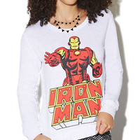 Iron Man Speckle Sweatshirt | Wet Seal