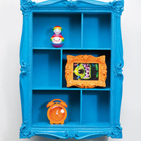 Baroque Wall Shelf in Blue at Urban Outfitters