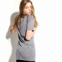 Women's V-Neck Tee (Old Heather)