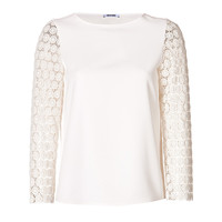 Moschino C&C - Lace Sleeve Top