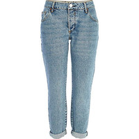 LIGHT WASH LEXIE SLIM BOYFRIEND JEANS