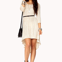 Easy High-Low Dress w/ Belt