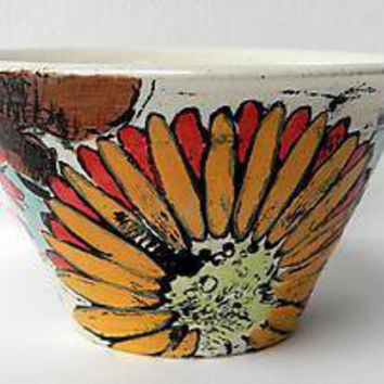 Sweet Eve Flared Bowl: Regina Farrell: Ceramic Bowl - Artful Home