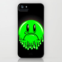 Slimey - neon green iPhone & iPod Case by chobopop