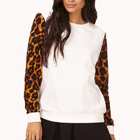 Wild Thing Leopard Sweatshirt
