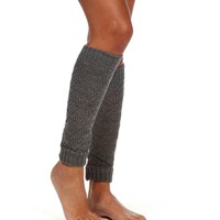Open Knit Gray Leg Warmers