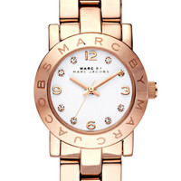 MARC BY MARC JACOBS 'Small Amy' Crystal Bracelet Watch | Nordstrom
