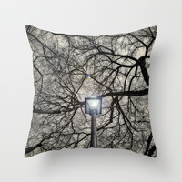 The Light Throw Pillow by DuckyB (Brandi)