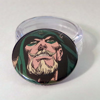 Comic Book 1.5 Button// Green Arrow (Oliver Queen)