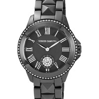 Vince Camuto Watch, Women's Gunmetal Tone Stainless Steel Bracelet 35mm VC-5049GYGY