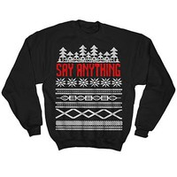 SA Holiday Sweatshirt by Say Anything