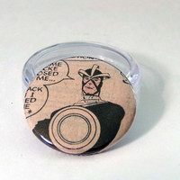 Comic Book 1.5 Button// Havok