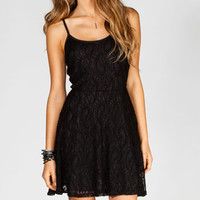 FULL TILT Lace Skater Dress