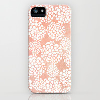 Pink Dahlias iPhone & iPod Case by Joy Laforme