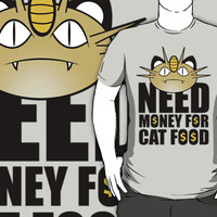 Need money for cat food