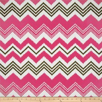 Premier Prints Indoor/Outdoor Zazzle Preppy Pink