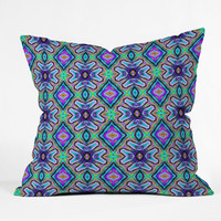 Lisa Argyropoulos Violetta Throw Pillow
