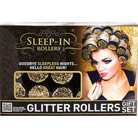 GLITTER SLEEP-IN ROLLERS GIFT SET