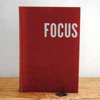 Vintage Book - Focus by Arthur Miller 1945 First Edition