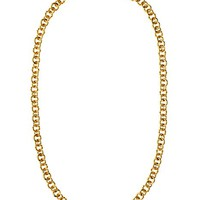 ENAMEL AND ROPE CHAIN STRAND NECKLACE