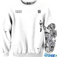 Fan Girl Tattoo Crewneck