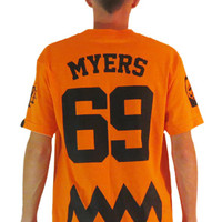 The MYERS Jersey Tee in Orange