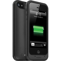 Mophie Juice Pack Plus External Battery Case for iPhone 5 - Black