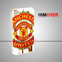 Machester United The Red Devil - iPhone 4/4s/5/5s/5c Case - Samsung Galaxy s2/s3/s4 Case - Black or White