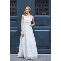 Cap Sleeve Strapless Wedding Dress