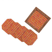 Sharon Turner Party Boardwalk Ikat Coaster Set