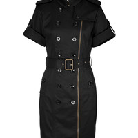 Burberry Brit - Stretch Cotton Trench Dress
