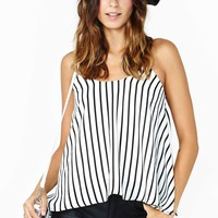 French Kiss Striped Tank