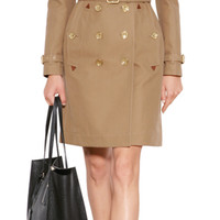 Burberry Brit - Cotton Gabardine Trench