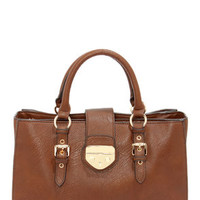 Bag It Up Brown Handbag