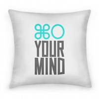 Open Your Mind Pillow