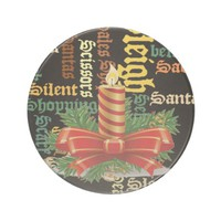 Santa Have a Nice Day and a Better Night.jpg Beverage Coaster