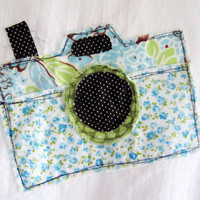 Tea Towel - Snapshot Applique - 100% Cotton