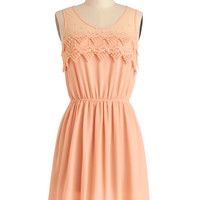 Peach Julep Dress | Mod Retro Vintage Dresses | ModCloth.com