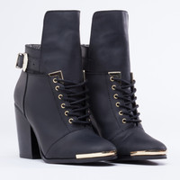 Grey City Bree in Black at Solestruck.com