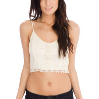 Lush Lace Beauty Crop Top