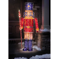 The 5 Foot Jeweled Nutcracker