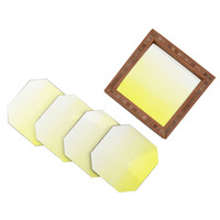 Social Proper Lemon Ombre Coaster Set