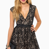 The Lace is On Skater Dress $53
