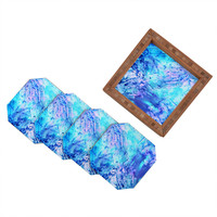 Rosie Brown Ocean Bottom Coaster Set