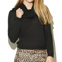 Cowl Neck Pullover Sweater | Wet Seal