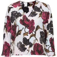 GARDEN FLORAL BUTTON TOP BY BOUTIQUE