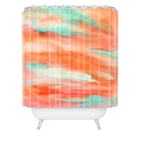 Rosie Brown Sunset Sky Shower Curtain